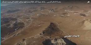 بعدسة الاعلام الحربي .. مشاهد جوية لآخر نقطة وصل إليها مجاهدو المقاومة في جرود عرسال