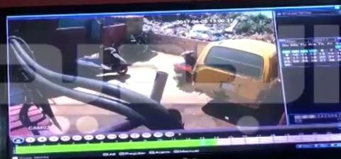 بالفيديو - لحظة استشهاد عنصر قوى الأمن أثناء مطاردة مطلوب في الاوزاعي