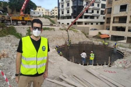 البدء بتنفيذ مشروع إنشاء خزان بسعة 300 متر مكعب في بلدة بقسطا لحل مشكلة المياه: 11500 مستفيد في منطقة الشرحبيل
