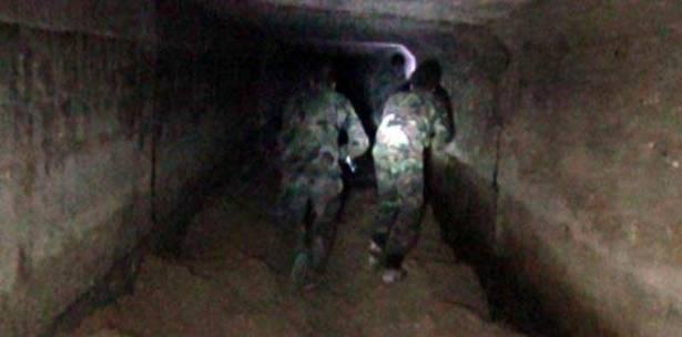 التنظيمات الإسلامية في الغوطة حفرت أربع انفاق ضخمة سرية للانسحاب
