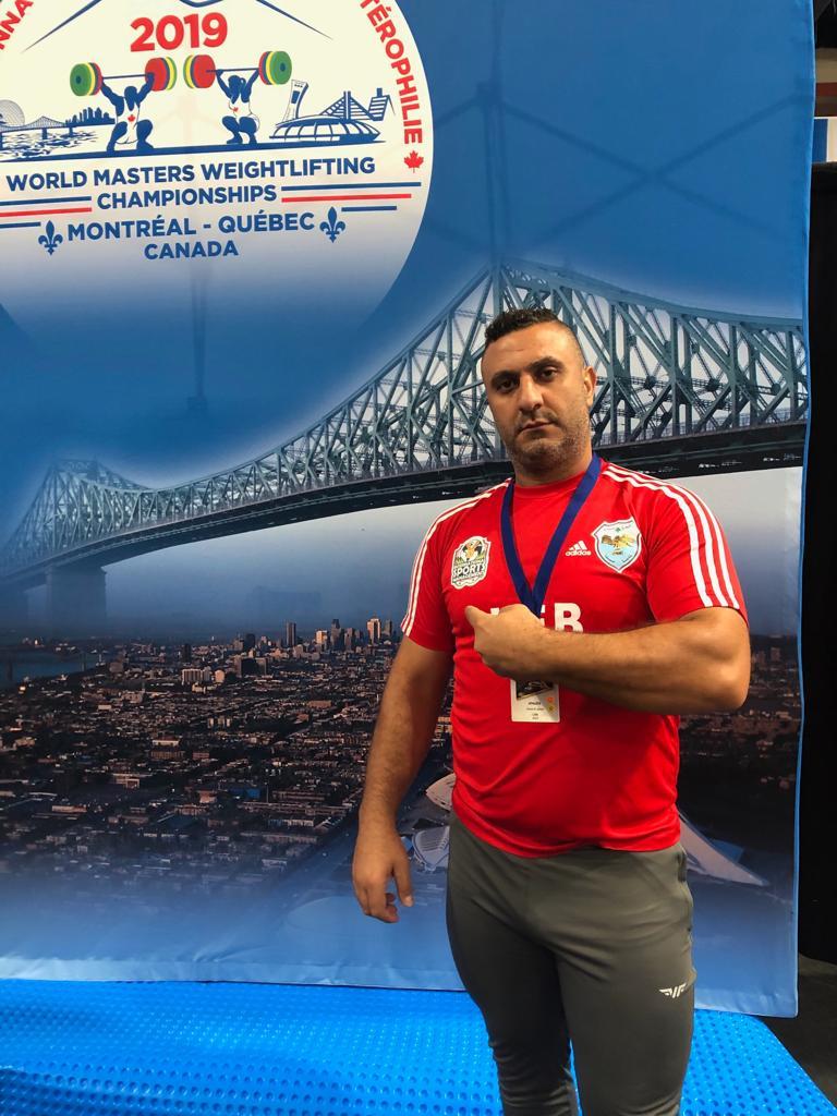 ترقبوا البث المباشر لمباراة البطل عدنان الجليلاتي في بطولة العالم للماسترز في لعبة رفع الأثقال