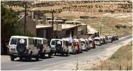 الصليب الأحمر توجه لجرود عرسال لمباشرة الأعمال لخروج المسلحين وعائلاتهم
