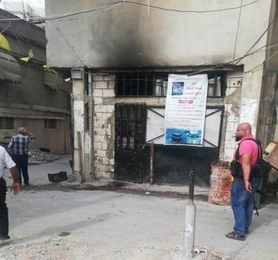 اشتداد وتيرة الاشتباكات في حي الطيرة في مخيم عين الحلوة