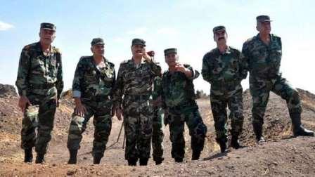 وزير الدفاع السوري يتوعد إسرائيل من القنيطرة