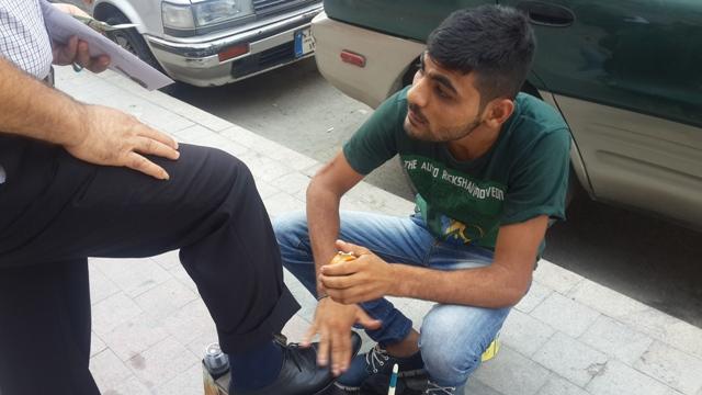 أحمد جنيد: الحرب أفقدته حياته وبيته