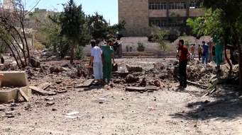 بالفيديو...مسلحو شرق حلب.. تحت رايات الإرهابيين
