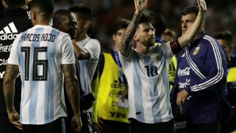 منتخب الارجنتين يودع جمهوره بفوز ودي كبير وثلاثية لميسي