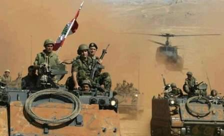 الجيش جدد قصفه لمواقع داعش في جرود القاع ورأس بعلبك