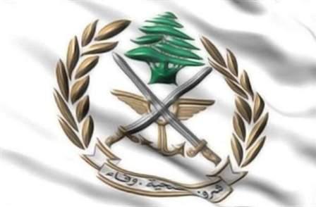 الجيش: احالة 13 موقوفا سوريا من مداهمات عرسال للقضاء لتورطهم بأعمال ارهابية