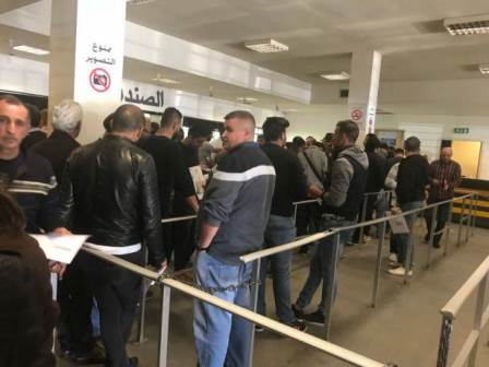 شاهدوا معاناة المواطنين خلال الانتظار في الطوابير قبل الوصول الى مكان المعاينة الميكانيكية