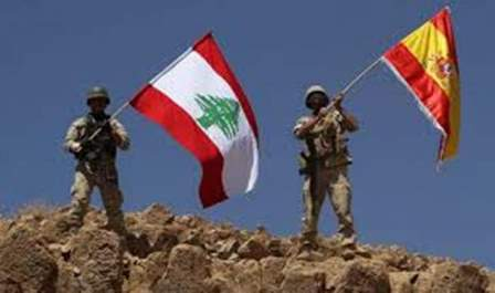 الجيش اللبناني سيرفع العلم اللبناني في اسبانيا