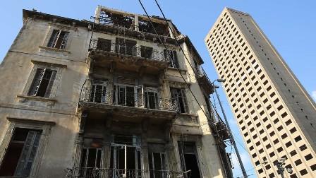 بالفيديو.. بيروت تخسر بيوتها التراثية