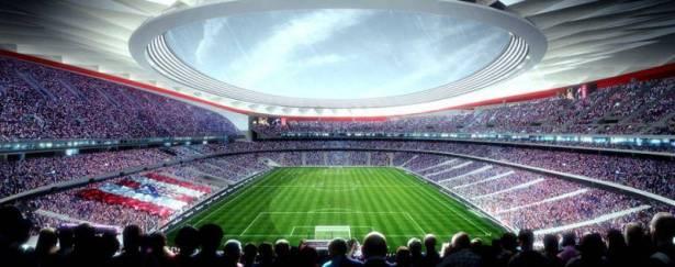 ملعب اتلتيكو مدريد الجديد لنهائي دوري الأبطال لعام 2019؟