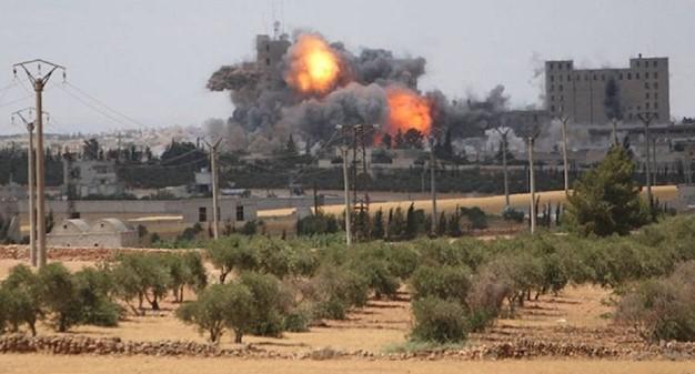 داعش يتبنى التفجير الانتحاري ضد التحالف الأميركي في منبج بسوريا
