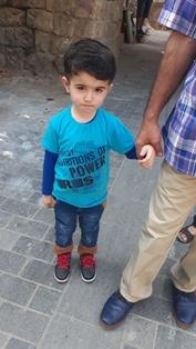 تعميم صورة طفل مفقود في صيدا القديمة