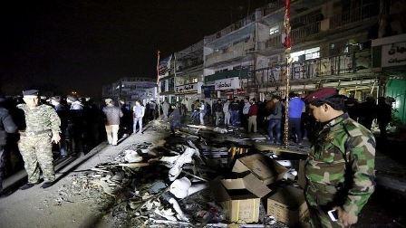 سلسلة تفجيرات تهزّ بغداد