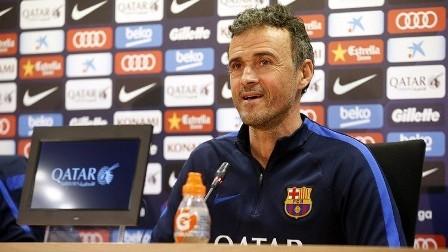 مدرب برشلونة يستنفر المصابين والموقوفين لنهائي كأس إسبانيا