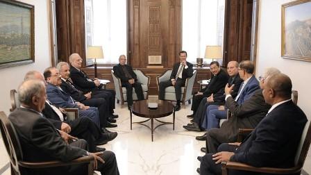 الأسد عن