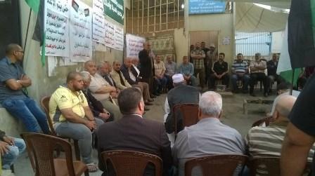 اعتصام في مخيم نهر البارد تضامناً مع الأسرى في السجون الإسرائيلية
