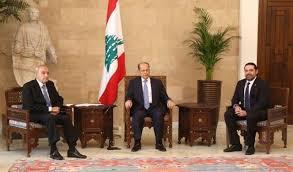 اجتماع بين عون وبري والحريري