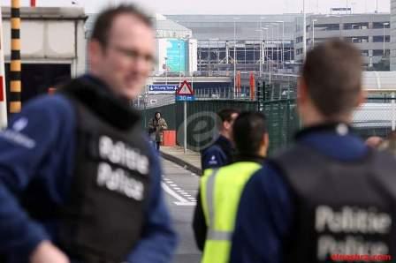 الشرطة البلجيكية تحاصر مشتبها به في المحطة المركزية في بروكسل