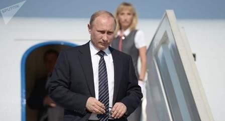 بوتين وصل إلى هامبورغ للمشاركة بقمة العشرين وإجراء سلسلة إجتماعات