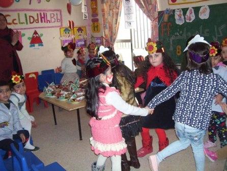 روضات الاتحاد العام للمرأة الفلسطينية في مخيمات منطقة صيدا أحيت مناسبة يوم الطفل