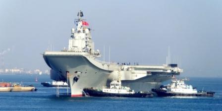 وصول حاملة طائرات صينية إلى هونج كونج للمرة الأولى