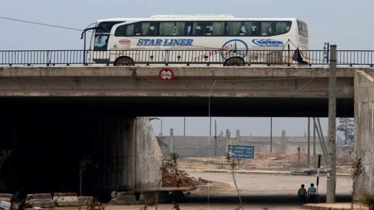 شركات النقل البري تسير رحلات من القامشلي إلى دمشق وحلب وبيروت
