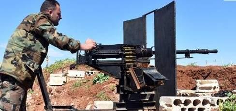 الجيش السوري يدمر آليات لإرهابيي جبهة النصرة بريف إدلب الجنوبي