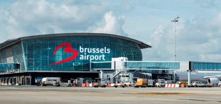 إلغاء 130 رحلة في اليوم الخامس لإضراب عمال نقل الأمتعة في مطار بروكسل