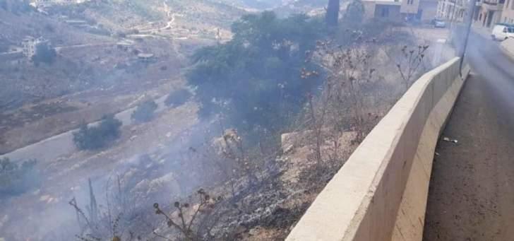 إخماد حريق داخل شقة سكنية في الجية وحريق أعشاب وأشجار في عين الجديدة
