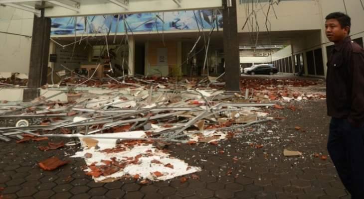 مقتل 5 أشخاص وإصابة العشرات بانهيار أرضي في إندونيسيا