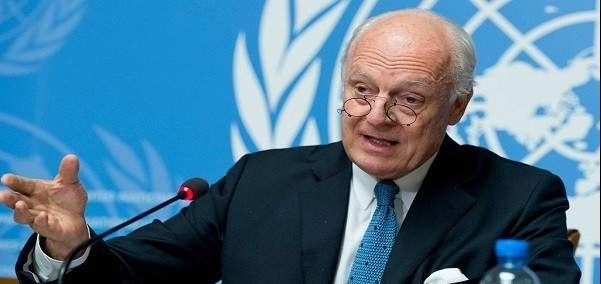 مسؤول أممي: دي ميستورا تلقى دعوة لحضور لقاء أستانا حول سوريا في 14و15 أيار