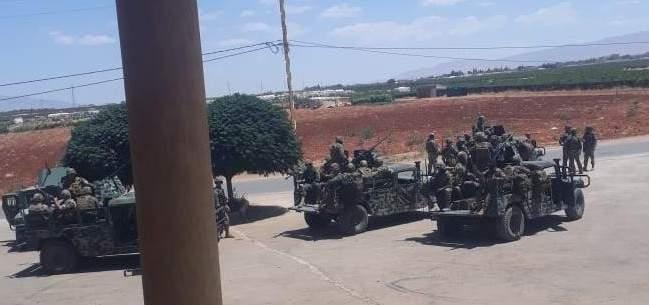 الجيش دخل وطوق بلدة حورتعلا اثر اشتباكات بين شبان من ال المصري
