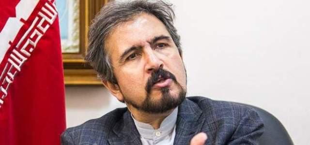 قاسمي: سفير سوريا بايران أبلغ ظريف بدعوة الأسد لإجراء زيارة لسوريا