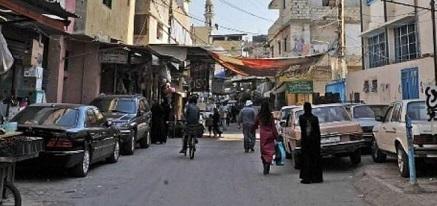 إحتجاجات فلسطينية في عين الحلوة على