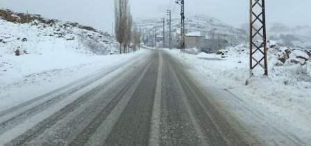 قوى الأمن: الطرقات لمراكز التزلج بكفرذبيان سالكة لسيارات الدفع الرباعي
