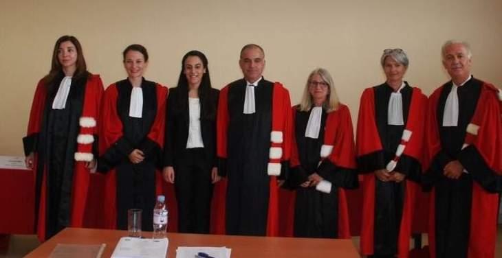 المحاكم العليا الفرنكوفونية بفرنسا منحت علا معطي جائزة أفضل أطروحة دكتوراه بالحقوق