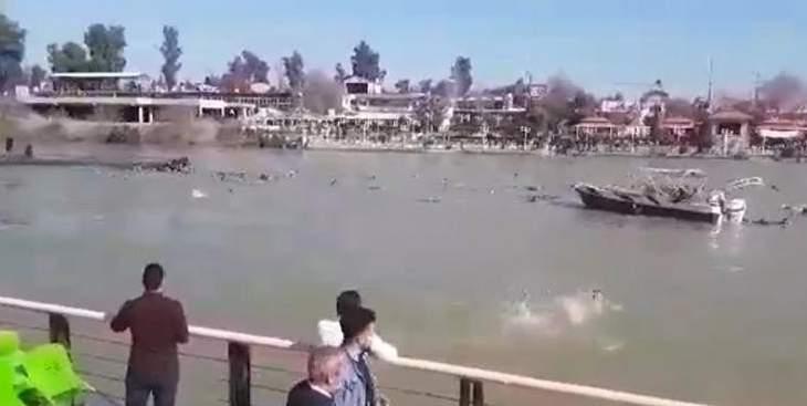 الداخلية العراقية: ارتفاع عدد ضحايا غرق عبارة نهر دجلة إلى 100 قتيل