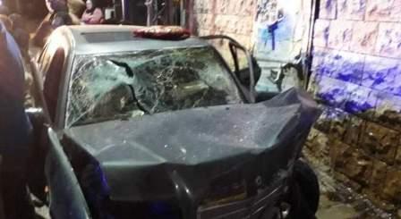4 جرحى في حادث سير بالقرب من ساحة الشهداء في صيدا