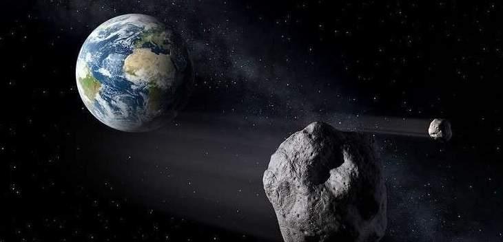 ناسا تحذر من كويكبين كبيرين يزوران الأرض اليوم