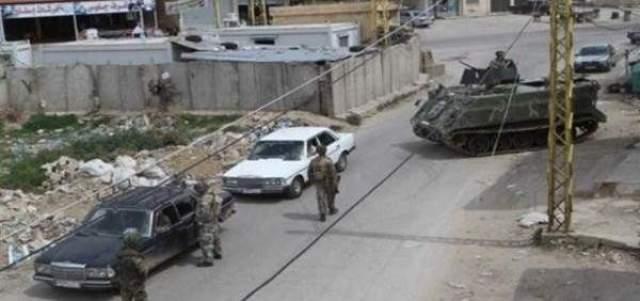 إشكال مسلح بين شبان من آل جعفر وآل زعيتر بحي الشراونة ببعلبك