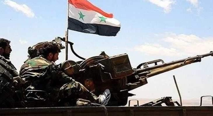 الجيش السوري يؤمن كامل الحدود مع الجولان السوري