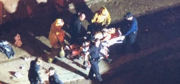 إصابة 8 مدنيين بعد أن هاجمهم رجل مسلح بآلة حادة في لوس أنجلوس