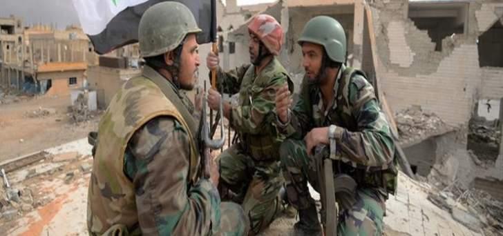 الجيش السوري وصل الى أطراف بلدة كفر بطنا بالغوطة