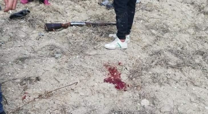 مواطن اطلق النار على نفسه في برج رحال النبطية محاولا الانتحار