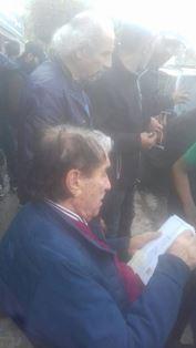 اصابة أبو سليم برضوض اثر تعرضه لحادث سير