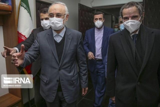 إيران: المحادثات مع غروسي مثمرة وسنعلن نتائجها الليلة
