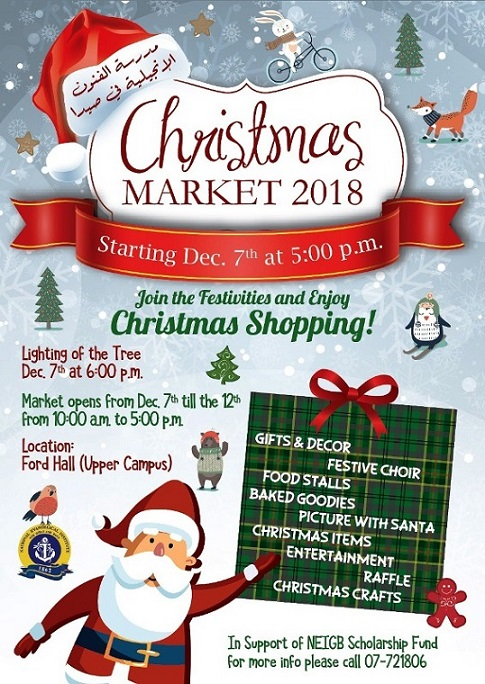 JOIN THE FESTIVITIES AND ENJOY CHRISTMAS SHOPPING !